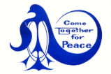 Come together for peace.